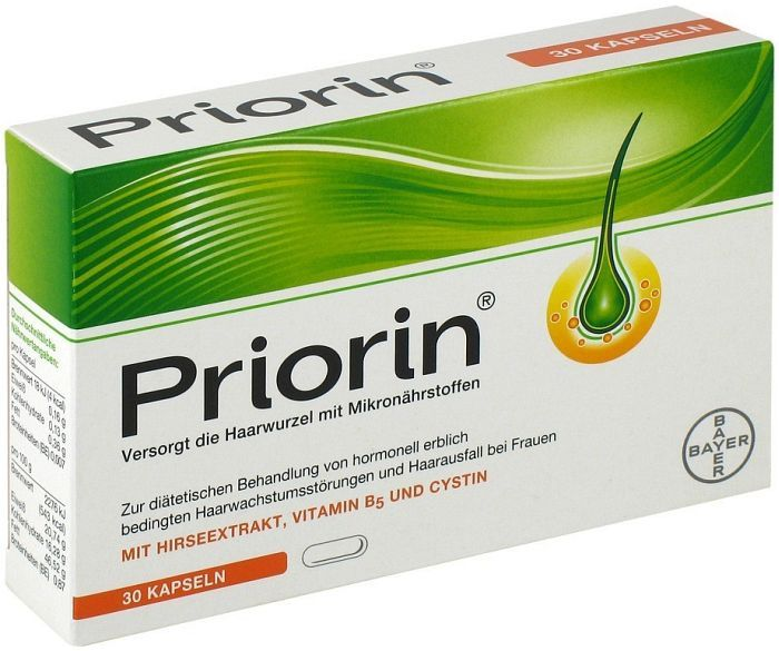Priorin 30 капсул